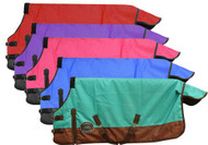 "PONY/YEARLING 56""-62"" Waterproof and Breathable Showman™ 1200 Denier Turnout Blanket."