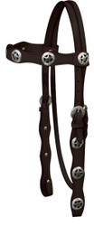 Texar Star headstall with reins.