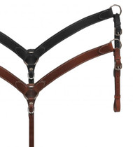 Showman® PONY leather breast collar.