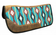 "Showman ® 31"" x 32"" Felt bottom Navajo saddle pad"
