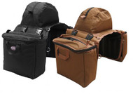Showman ® Heavy nylon cooler saddle bag.
