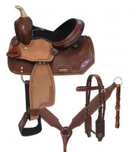 "10"" Double T  Youth/Pony saddle set.."