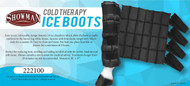 "Showman ® 16"" x 17"" Cold Therapy Ice Boots."