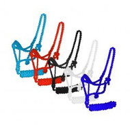 Showman® Braided nylon mule tape halter. .