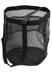 Showman ® Nylon mesh feed bag.