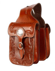 Showman® Acorn tooling horn bag.