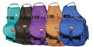Showman SADDLE BAG Heavy Nylon Cooler with Insulated /& Detachable Side Coolers
