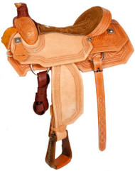 "16"" Showman™ Roping Saddle."