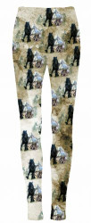 """Running Horses"" leggings."