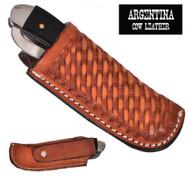 Showman ® Argentina Cow Leather Knife Sheath.
