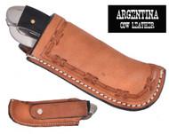 Showman ® Argentina Cow Leather Knife Sheath..
