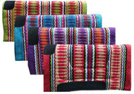 "Showman® 32"" x 32"" Arcylic top saddle pad with Navajo top."