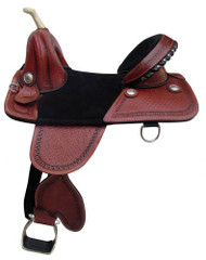 "16"" Double T Treeless Saddle."