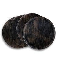 Brindle Cowhide Coasters. Sold individually.