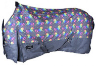 Showman ® Unicorn Print 1200D Turnout Sheet.