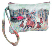 """Roping Cowgirl"" Wristlet."