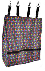 Showman ® Unicorn printed deluxe nylon stall bag.