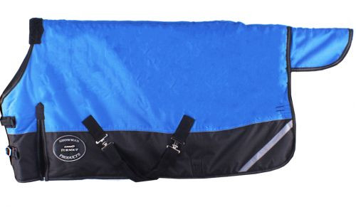 """Showman PONY /& YEARLING Size 48/"""" 54/"""" TURNOUT BLANKET Waterproof /& Breathable"""