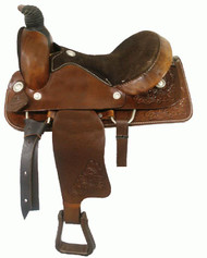 "15"" Circle 'S' Western Roping Saddle"