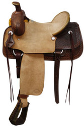 Showman Bullhide Roping Saddle