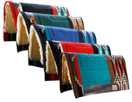 """Showman™ 34"""" x 36"""" Cutter Style Pad with Kodel Fleece and Wear Leathers"""