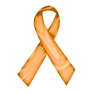 Orange Swirl Ribbon Tattoo - 5 Pack FREE Shipping!