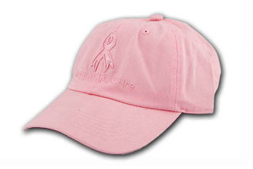 Pink Embroidered Cap FREE Shipping!