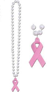 Pink Ribbon Beads FREE Shipping!