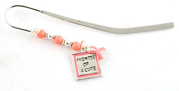 Pink Ribbon Bookmark FREE Shipping!