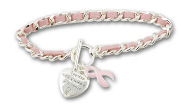 Pink Ribbon Bracelet FREE Shipping!
