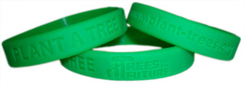 Plant A Tree Wristband - 4 Pack