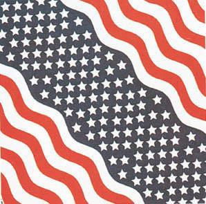 Stars & Stripes Bandana Pack of 6 - FREE Shipping!