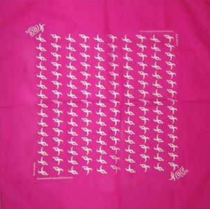Susan G. Komen Bandana  Pack of 6  - FREE Shipping!