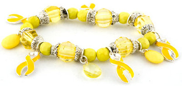 Yellow Beaded Bracelet FREE Shipping!