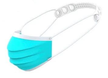 White Plastic Comfort Mask Strap - FREE Shipping!