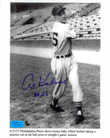 Al Kaline Autographed 8x10 Photo - Limited Edition #25 1953 Rookie Season