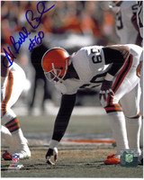 "Al ""Bubba"" Baker Autographed Cleveland Browns 8x10 Photo #1"