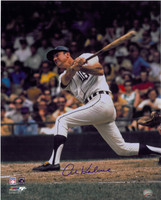 Al Kaline Autographed Detroit Tigers 16x20 Photo - Home 70's Batting