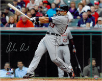 Alex Avila Autographed Detroit Tigers 16x20 Photo #3 - Road Swinging