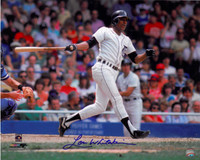 Lou Whitaker Autographed Detroit Tigers 16x20 Photo #1 - Swinging