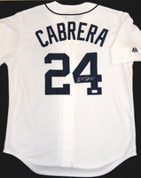 Miguel Cabrera Autographed Detroit Tigers Home Jersey