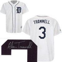 Alan Trammell Autographed Detroit Tigers Jersey (Pre Order)