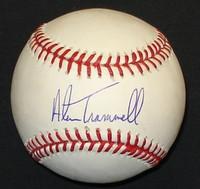 Alan Trammell Autographed Baseball - Official Major League Ball (Pre-Order)