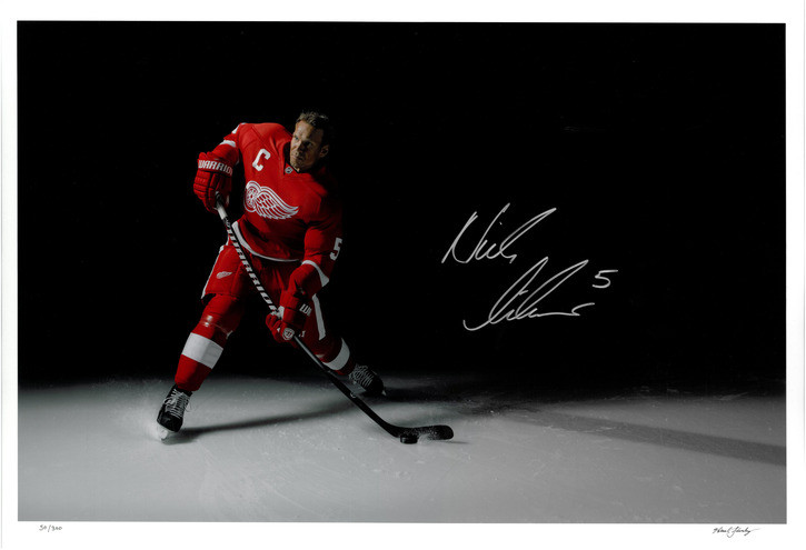 Pavel Datsyuk Henrik Zetterberg Detroit Red Wings Signed Photo Autograph Reprint