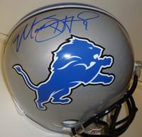 Matthew Stafford Autographed Detroit Lions Deluxe Replica Helmet (Pre-Order)