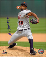 Al Alburquerque Autographed Detroit Tigers 8x10 Photo #3 (Full Name)