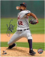 Al Alburquerque Autographed Detroit Tigers 8x10 Photo #1