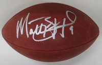 Matthew Stafford Autographed Official NFL Football