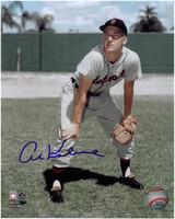 Al Kaline Autographed Detroit Tigers 8x10 Photo - Classic Fielding