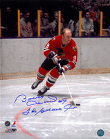 Bobby Hull Autographed Chicago Blackhawks 16x20 Photo #1